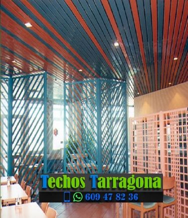 Montajes de techos de aluminio en Botarell Tarragona