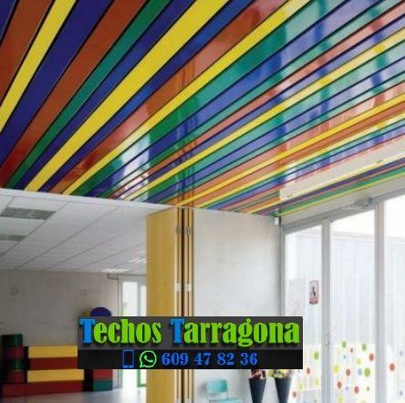 Montajes de techos de aluminio en Bràfim Tarragona