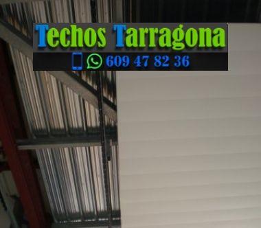 Montajes de techos de aluminio en Cambrils Tarragona