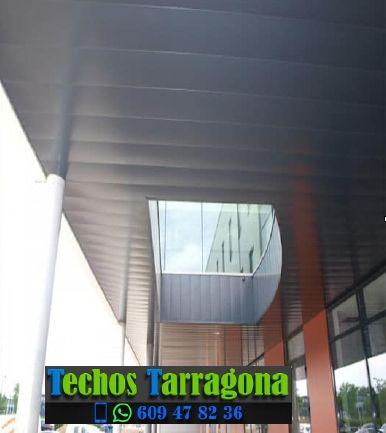 Montajes de techos de aluminio en Capafonts Tarragona