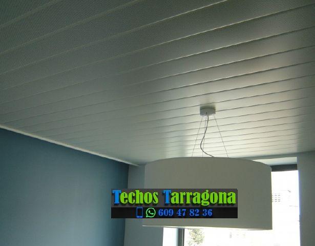 Montajes de techos de aluminio en Caseres Tarragona