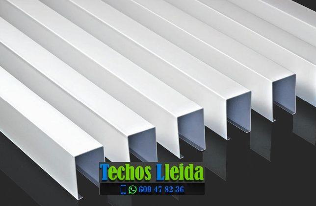 Montajes de techos de aluminio en Castell de Mur Lleida