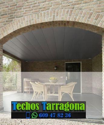 Montajes de techos de aluminio en Castellvell del Camp Tarragona