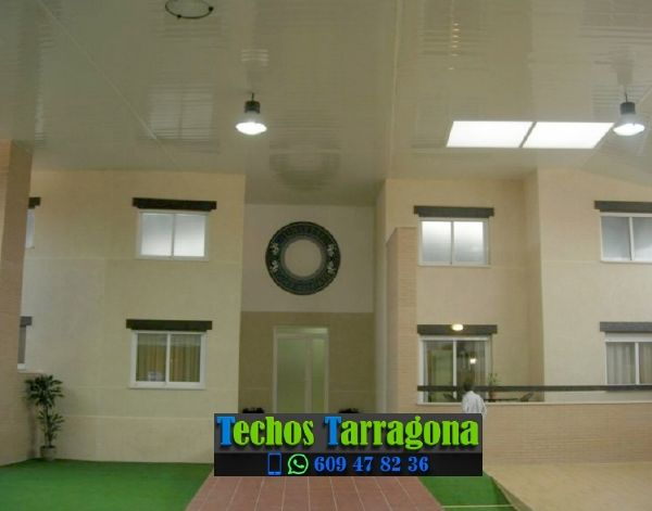 Montajes de techos de aluminio en Colldejou Tarragona