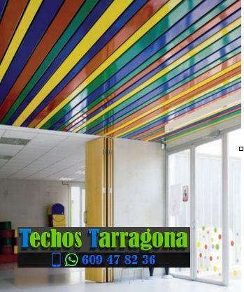 Montajes de techos de aluminio en El Catllar Tarragona