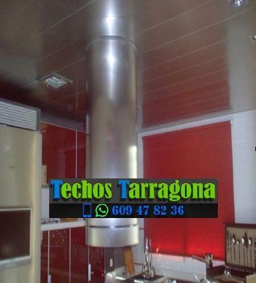 Montajes de techos de aluminio en El Molar Tarragona