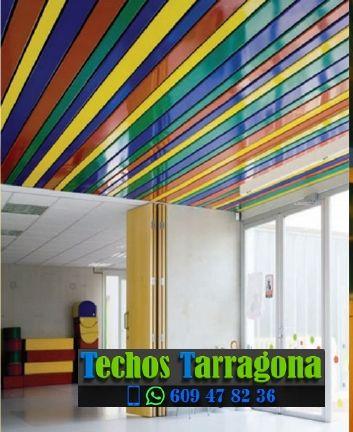 Montajes de techos de aluminio en El Pla de Santa Maria Tarragona