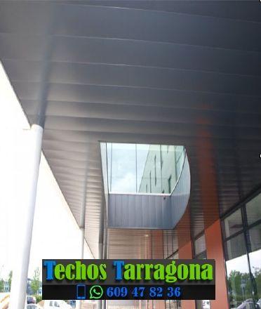 Montajes de techos de aluminio en El Vendrell Tarragona
