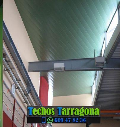 Montajes de techos de aluminio en Els Garidells Tarragona