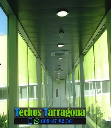 Montajes de techos de aluminio en Els Guiamets Tarragona