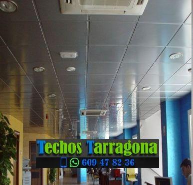 Montajes de techos de aluminio en Falset Tarragona