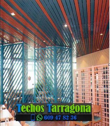 Montajes de techos de aluminio en Forès Tarragona