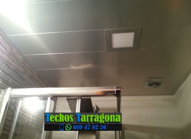 Montajes de techos de aluminio en La Bisbal de Falset Tarragona