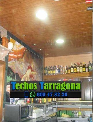 Montajes de techos de aluminio en La Fatarella Tarragona