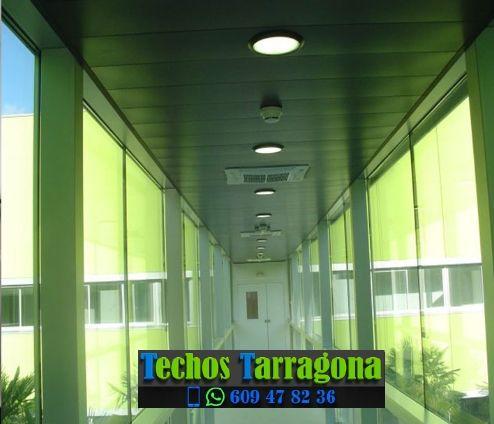 Montajes de techos de aluminio en La Figuera Tarragona