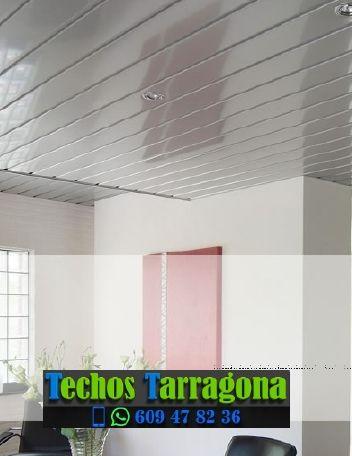 Montajes de techos de aluminio en La Morera de Montsant Tarragona