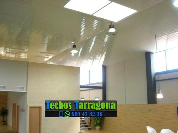 Montajes de techos de aluminio en La Vilella Baixa Tarragona