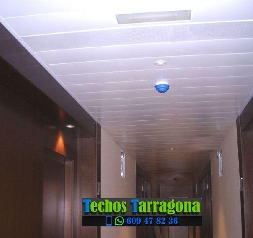 Montajes de techos de aluminio en Les Borges del Camp Tarragona
