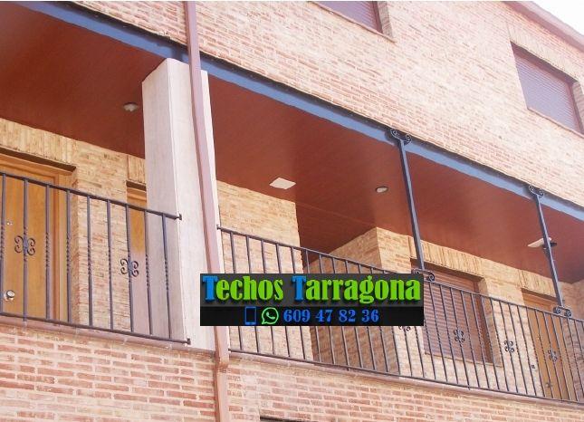 Montajes de techos de aluminio en Les Piles Tarragona