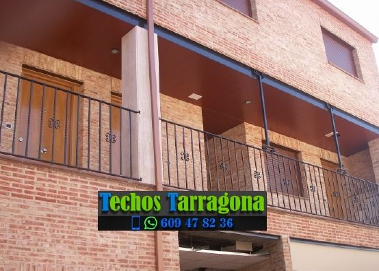 Montajes de techos de aluminio en Mas de Barberans Tarragona