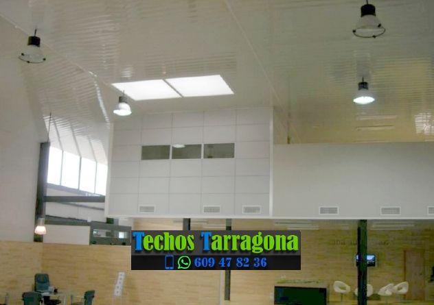 Montajes de techos de aluminio en Montbrió del Camp Tarragona