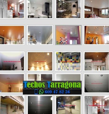 Montajes de techos de aluminio en Nulles Tarragona