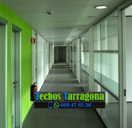 Montajes de techos de aluminio en Poboleda Tarragona