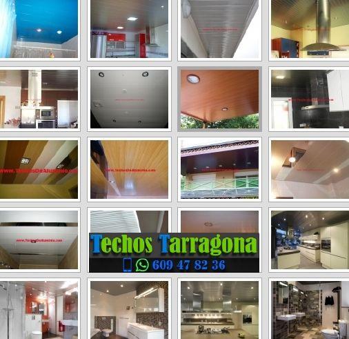 Montajes de techos de aluminio en Pratdip Tarragona