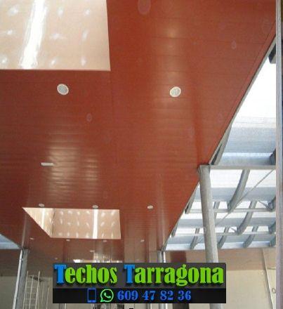 Montajes de techos de aluminio en Riudecanyes Tarragona
