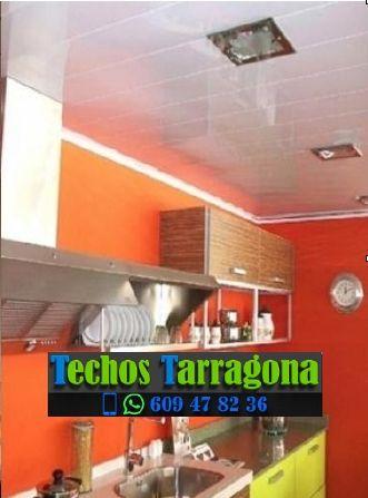 Montajes de techos de aluminio en Riudecols Tarragona