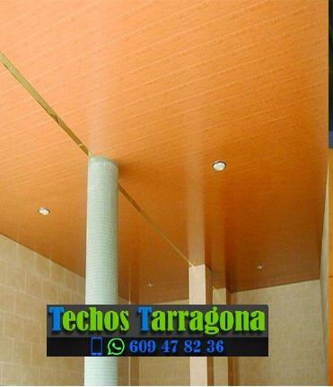 Montajes de techos de aluminio en Roquetes Tarragona