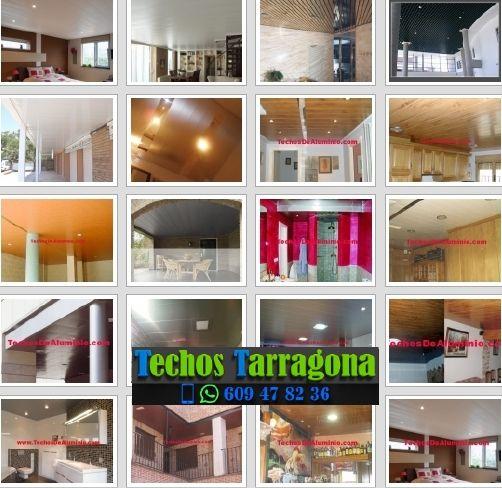 Montajes de techos de aluminio en Santa Coloma de Queralt Tarragona