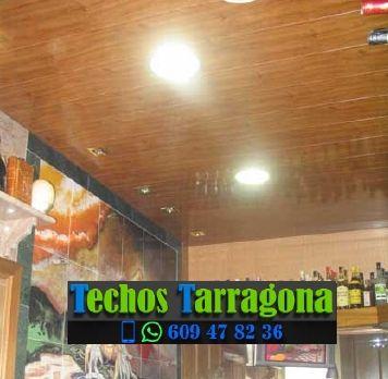 Montajes de techos de aluminio en Sarral Tarragona