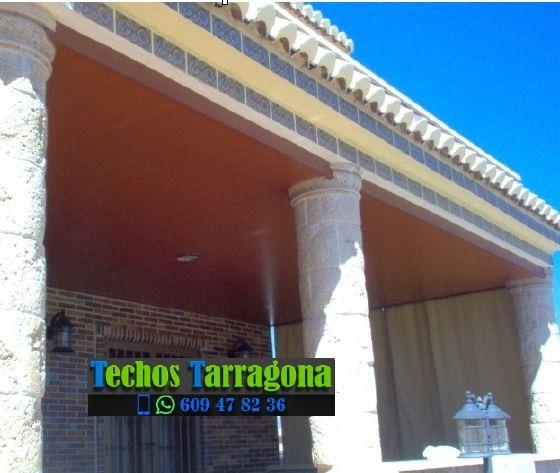 Montajes de techos de aluminio en Savallà del Comtat Tarragona