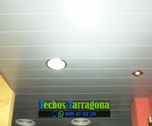 Montajes de techos de aluminio en Tivenys Tarragona