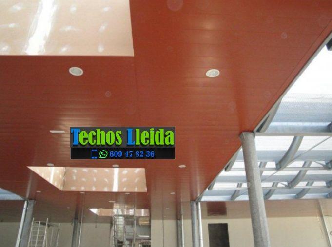 Montajes de techos de aluminio en Torres de Segre Lleida