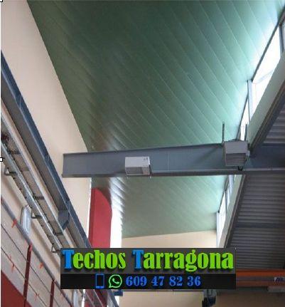 Montajes de techos de aluminio en Valls Tarragona
