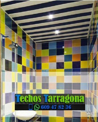 Montajes de techos de aluminio en Vilaplana Tarragona