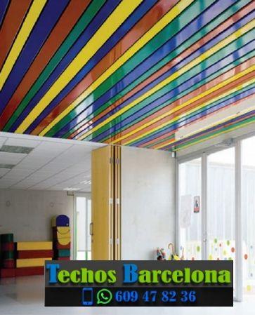 Precios económicos techos metálicos Barcelona