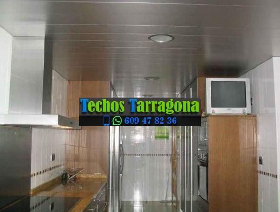 Presupuesto empresa techos aluminio Tarragona Catalunya