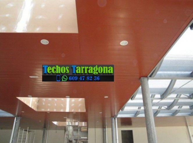 Presupuestos de techos de aluminio en Aldover Tarragona