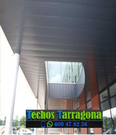 Presupuestos de techos de aluminio en Arbolí Tarragona