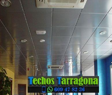 Presupuestos de techos de aluminio en Bellmunt del Priorat Tarragona