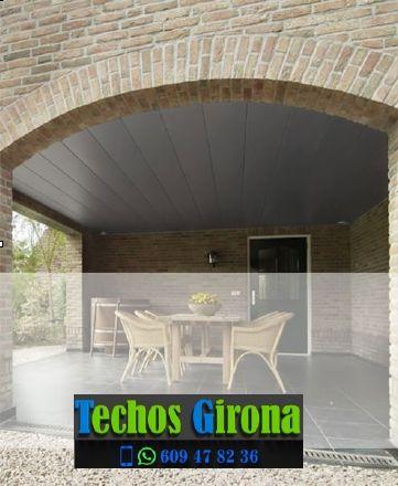 Presupuestos de techos de aluminio en Beuda Girona