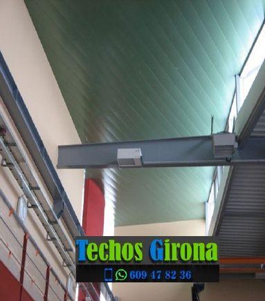 Presupuestos de techos de aluminio en Bordils Girona