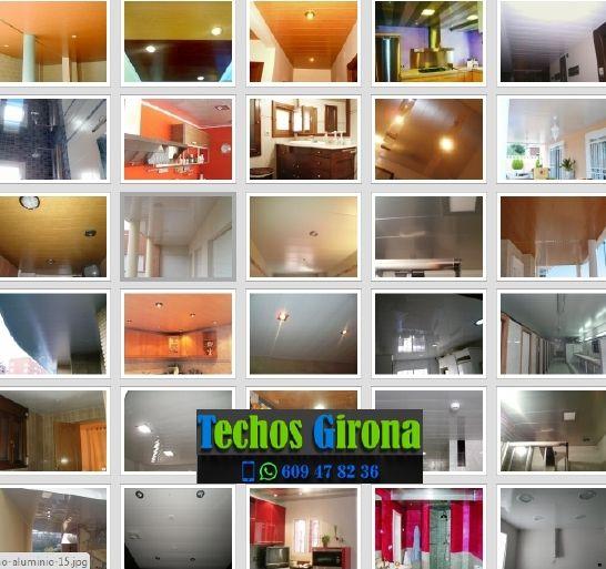 Presupuestos de techos de aluminio en Breda Girona