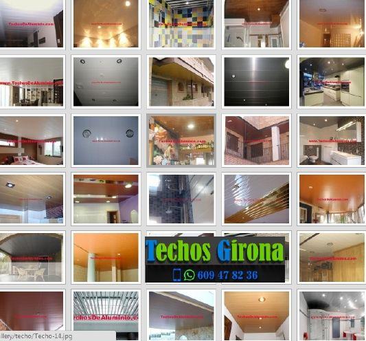 Presupuestos de techos de aluminio en Campllong Girona
