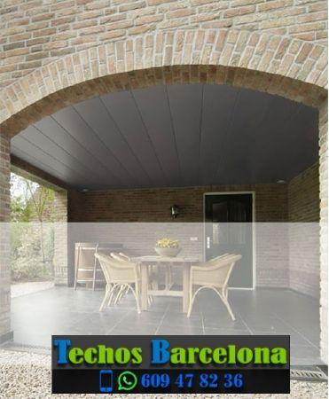Presupuestos de techos de aluminio en Castellar del Riu Barcelona