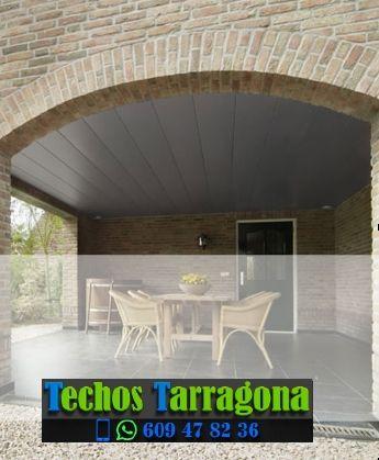 Presupuestos de techos de aluminio en Castellvell del Camp Tarragona