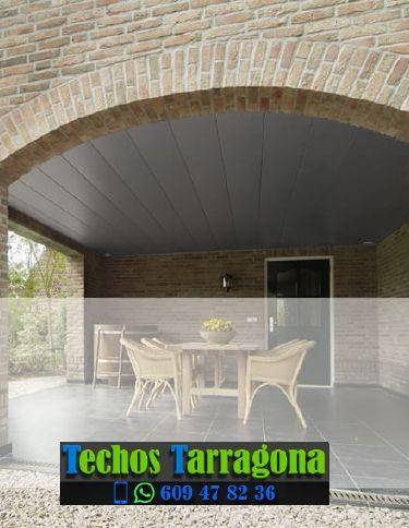 Presupuestos de techos de aluminio en Constantí Tarragona